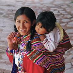 Peruvians (Mondmann) Tags: woman baby peru child mother peruvians nikond60