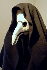 plague doctor beak mask (ohrfeus) Tags: blackdeath pest plague schnabel maske msh0309 wienerwaldmuseum schwarzertod msh03098 pestarzt