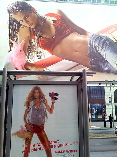 : red, advertising, winfriedveil, poster, skin, rosa, deutschland, hase, veil, bellybutton, germany, bauchnabel, girl, werbund, sexuality2010, commercial, bikin, rabbit, berlin, rot, haut, winfried, plakat, hardbody, hotpants, ad, mobilew, pink, tallyweijl, sexy, iphone, jeans