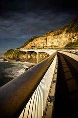 Railing II (Cameron Booth) Tags: bridge 15fav cliff au australia nsw newsouthwales illawarra auspctagged seacliffbridge pc2508 skyarchitecture coalcliff mywinners lawrencehargravesdrive