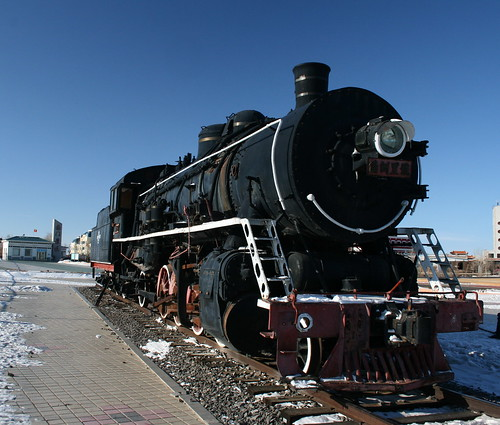 Locomotive of Mao's Train to Moscow (by niklausberger)