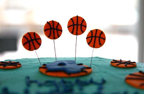 Jaden's Basketball Cake