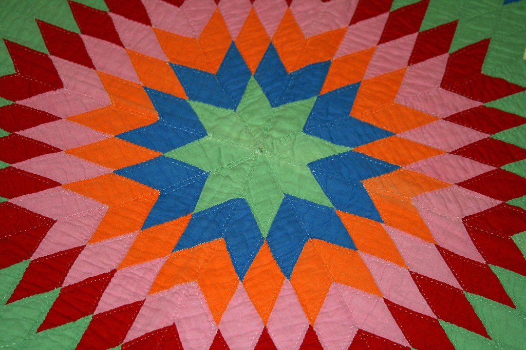 Family Quilts Lone Star Amy A La Mode