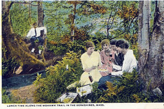 lunch on Mohawk Trail (ledges) Tags: williamscollege williamspostcards