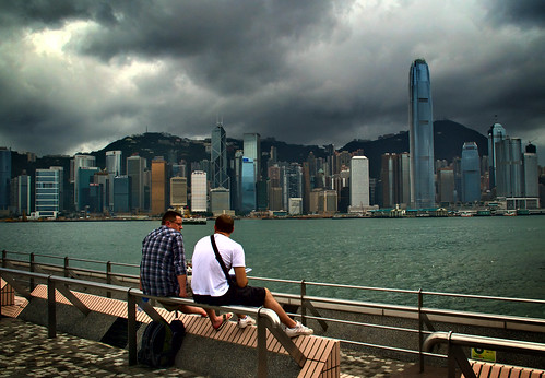 Victoria Harbour. Hong Kong (1)