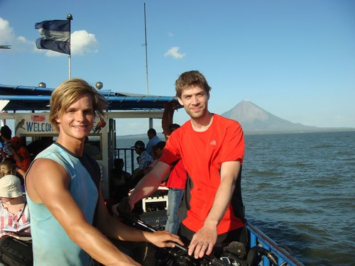 From the ferry ride across the Nicaragua Lake to Isla Ometepe, Nicaragua.