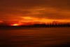 Sky on fire (anthony@sg) Tags: sunset red sky canon singapore 40d pfogold pfosilver