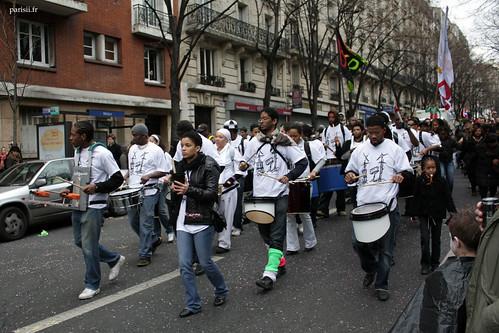 Rythme au Carnaval de Paris