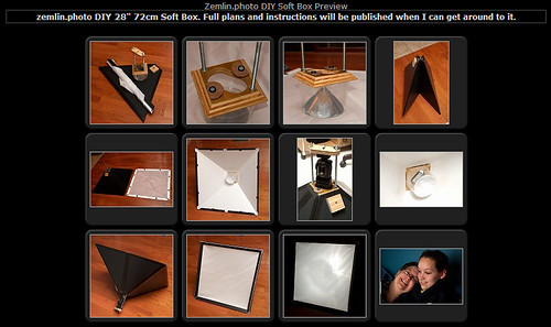 "DIY 28"" Soft Box Gallery Page"