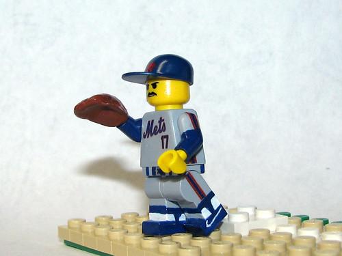 Lego Keith Hernandez 1986 custom minifig