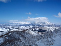羊蹄山とニセコ連山