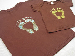 Custom Heartfeet Tees