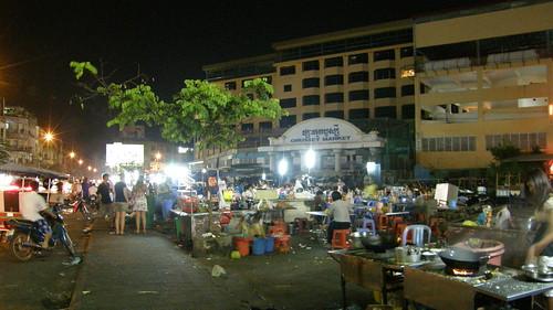 93.Orussey Market的小夜市