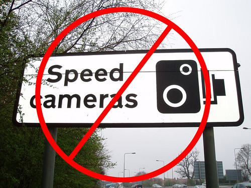 no speed cameras