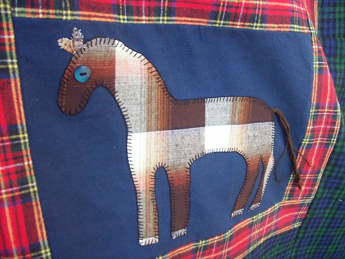 Flannel Horses