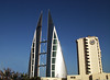 side by side (abcdz2000) Tags: mall shopping hotel bahrain business wtc sheraton complex bah manama finance