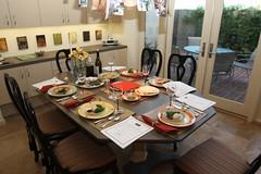 Mom has set a beautiful table (focajonathan) Tags: dinner table lajolla passover sedar