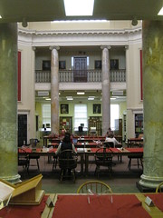 Research (historygradguy (jobhunting)) Tags: people building ma person sitting chairs candid interior massachusetts columns newengland research sit tables mass seated studying readingroom worcester naturalframe aas americanantiquariansociety