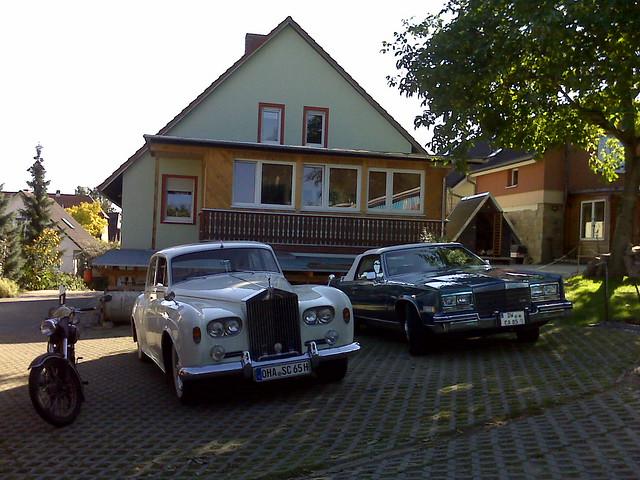 Rolls-Royce und Cadillac