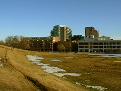 on my way to inkstorm (occasionally.colleen) Tags: halifax citadelhill earlyspring cbcbuilding