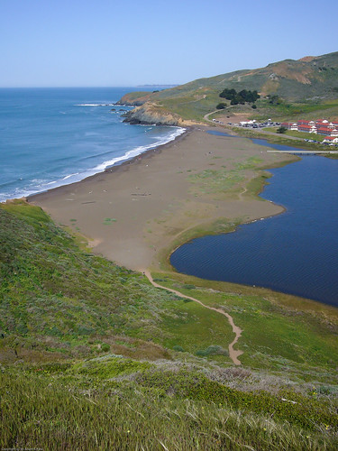 Rodeo Lagoon and beach by you.