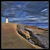 YAFPCP (Dave the Haligonian) Tags: ocean sea sky lighthouse canada clouds coast novascotia line atlantic shore maritime granite peggyscove hdr eastdover copyrightallrightsreserved davidsaunders vertorama davethehaligonian yafpcp dsc822456