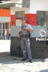 SaoPaulo-Centro_20090418_129 (rticotropical) Tags: brazil urban latinamerica architecture downtown saopaulo police latin metropolis latinos megalopolis