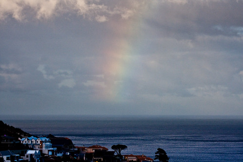 A delicate shade of rainbow