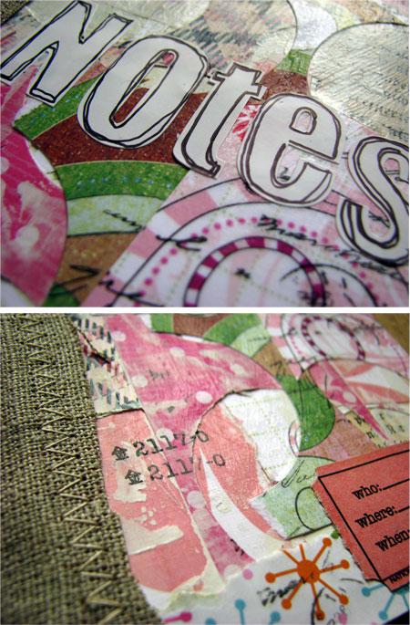 Pink Notebook (details)