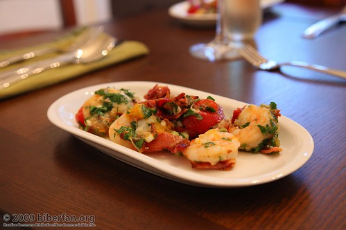 Garlic Shrimp with Pancetta