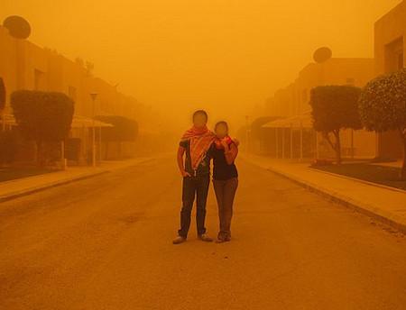 الغبار بعيون سورية