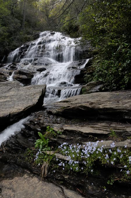 Glen Falls, Nantahala National Forest