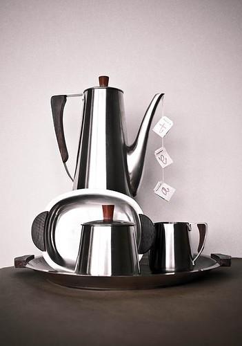 Mid Century Modern Tea Set -- To Be Seen on Mad Men