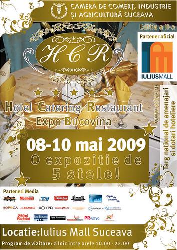 8-10 Mai 2009 » Hotel Catering Restaurant Expo Bucovina