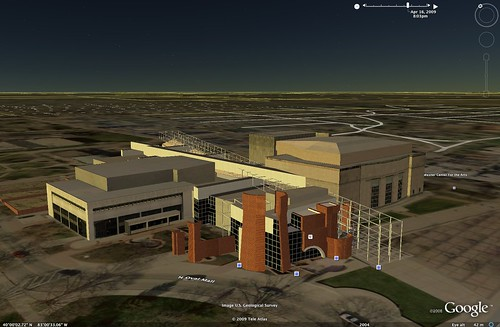 Wexner Center on Google Earth