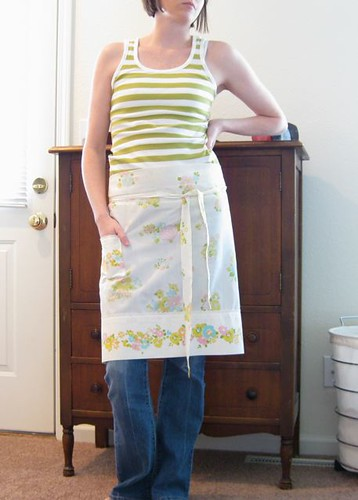 pillowcase apron