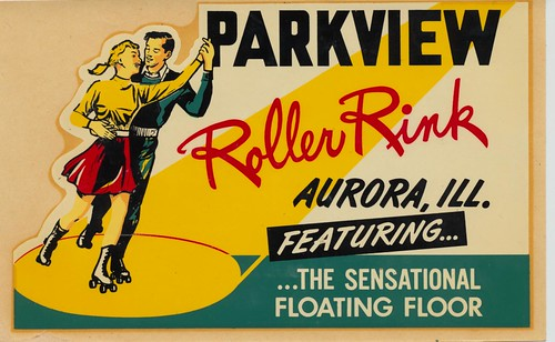 Parkview Roller Rink - Aurora, Illinois by What Makes The Pie Shops Tick?