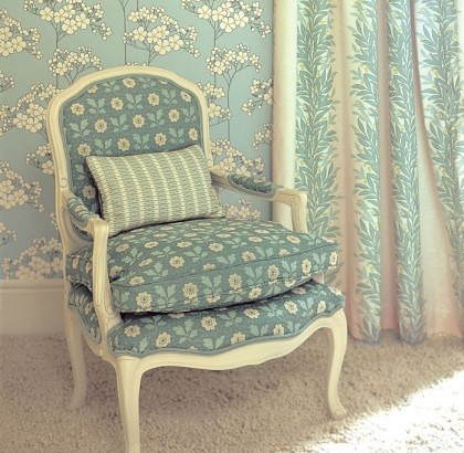 damask wallpaper room. Modern wallpaper: Robin#39;s egg