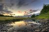 A digital reflection of a natural idea (Dani℮l) Tags: sunset holland reflection dutch zonsondergang nikon tag nederland sigma netherland reality groningen leek hdr a7 lettelbert snelweg d300 10mm butitisnt lettelberterdiep dedaniel lowanglestuff lookslikeadike