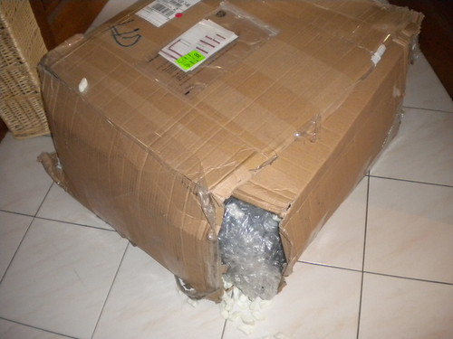How the package arrives