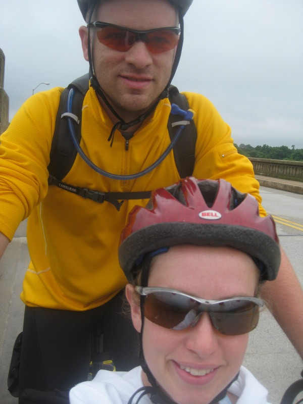 Self-Shot on Columbia's Mile Long Bridge