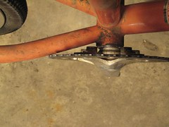 DIY chainstay crimp - Before