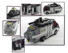 military thingy (Guss De Bld) Tags: post lego vehicles apoc moc