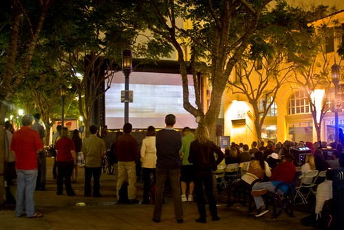 Outdoor Movies in Los Angeles, California