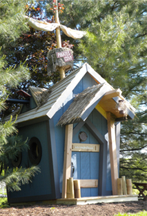Pirate-Style Crooked House (KidsCrookedHouse.com)