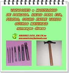 VAZADORES DE PANCADA (*Ateli MasaN ArteirA*) Tags: de pancada furador vazadores imaadesivada eva10mm apliquesdeeva evaadesivado evaliso vazadordepancada