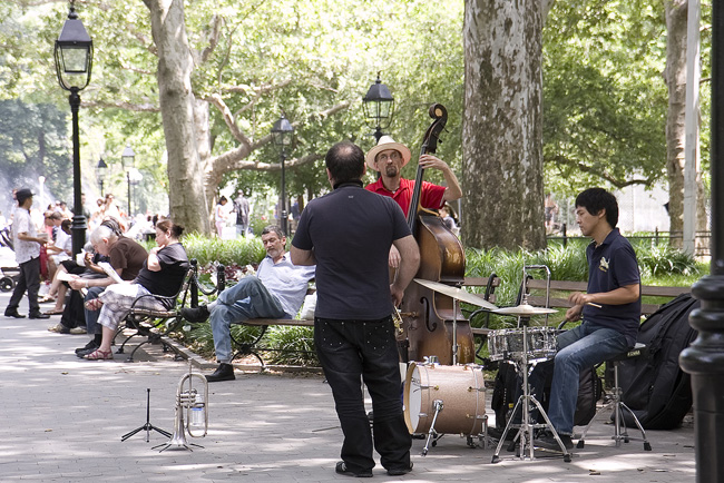 Musicians, Washington Square Park