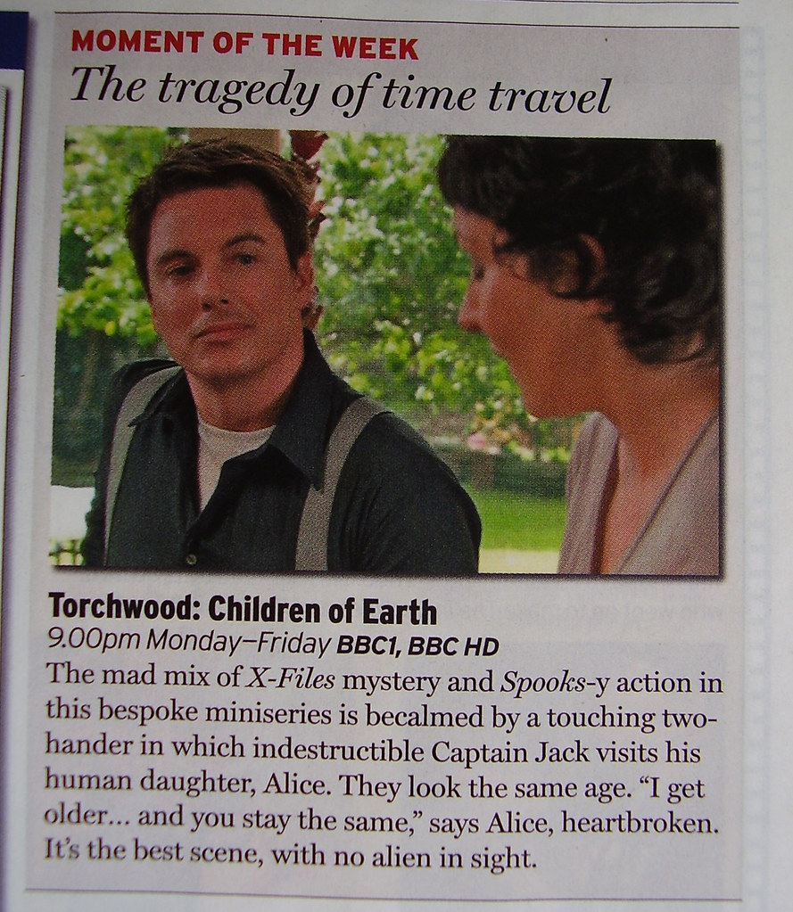 TORCHWOOD - 'Radio Times' Moment of the Week