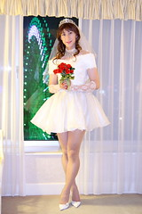 day120 june bride!(5/8) (Yumiko Misaki) Tags: wedding white june hotel bride dress mini yokohama day120 dressblack