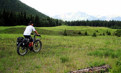 cg87 (vikapproved) Tags: road old mountain man cold bike bar bars tour great large columbia canadian vik adventure route dirt h rack alberta springs british marge rim pugsley surly sherpa moutain gdr touring racks association ortlieb divide shimano cdn omm igh titec endomorph alfine pugsely